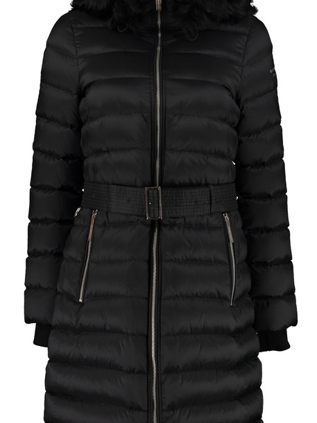 Burberry Hooded Down Jacket in black