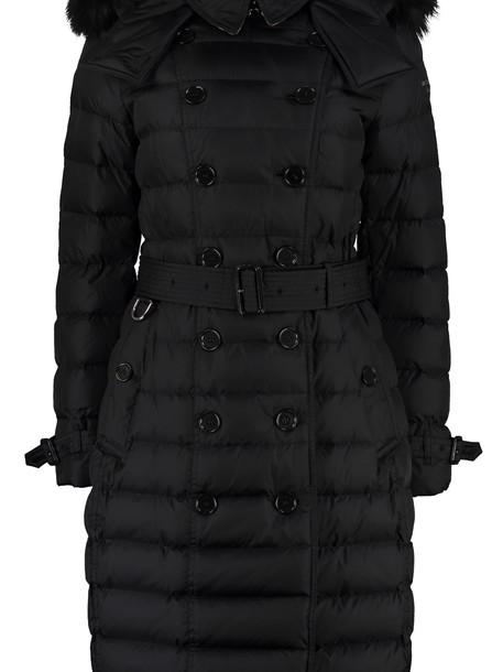 Burberry Hooded Down Jacket in black