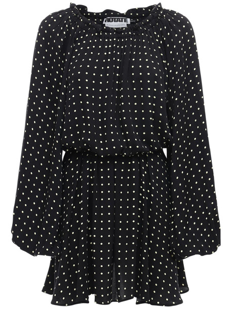 ROTATE Carly Off-the-shoulder Crepon Mini Dress