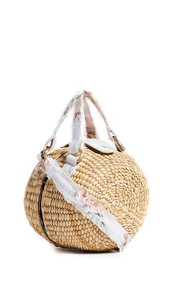 LOVESHACKFANCY Roxy Bag in natural