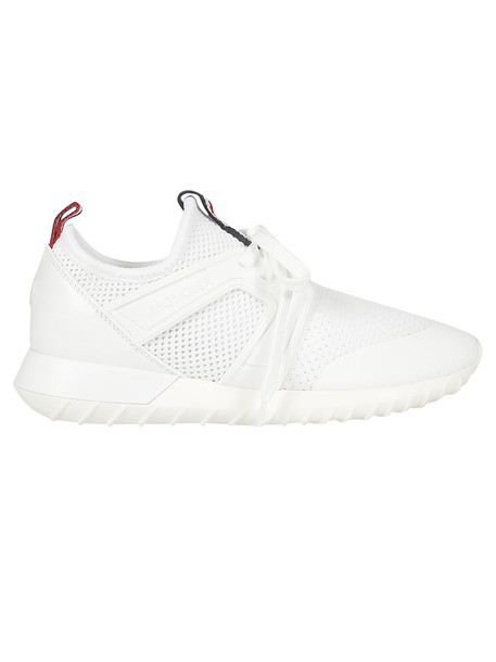 Moncler Mesh Sneakers in bianco