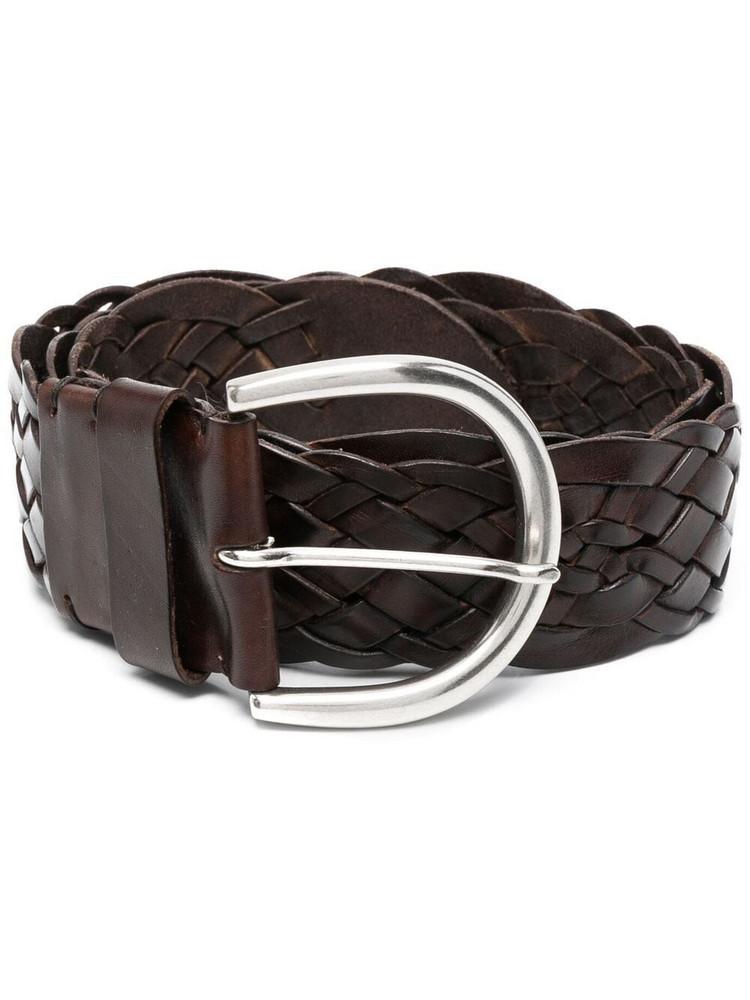 P.A.R.O.S.H. P.A.R.O.S.H. interwoven-design belt - Brown