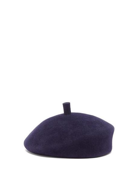 Lola Hats - Frenchy Felt Beret - Womens - Navy