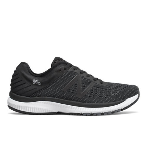 New Balance 860v10 Men's Stability Shoes - Black (M860G10)