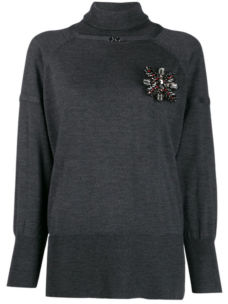 Pinko Soltanto Wool Sweater in nero
