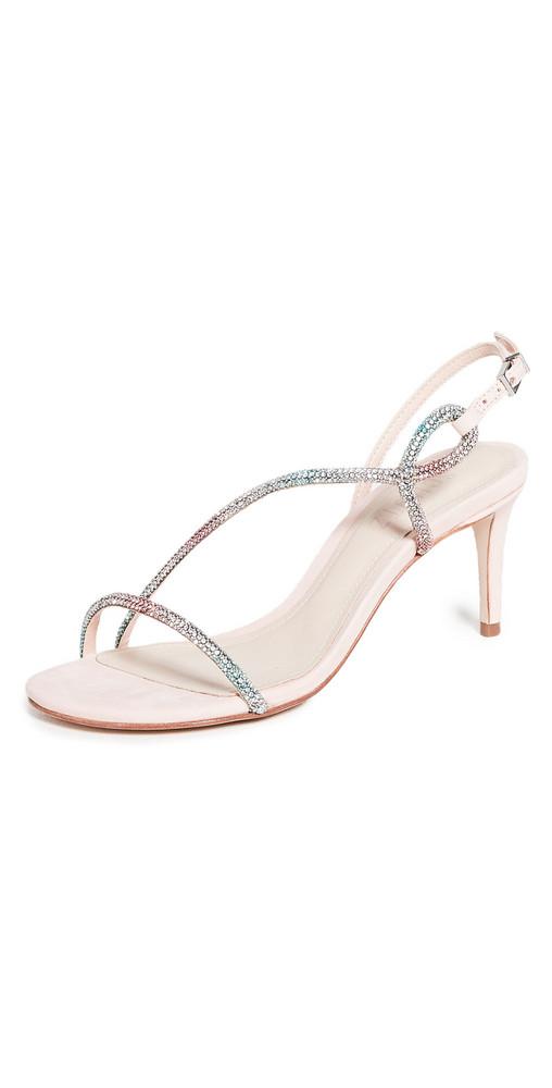 Schutz Rilana Sandals in rose