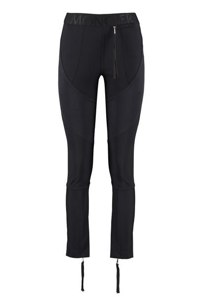 Moncler Technical Fabric Leggings in black