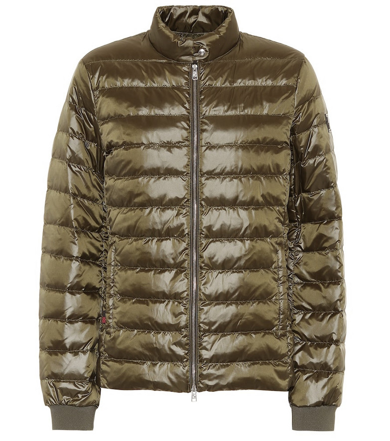 Woolrich Magnolia quilted down jacket in green