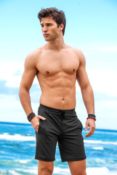 shorts mens sauvage activewear surf shorts workout activewear bikiniluxe