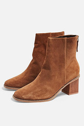 ankle boots,tan,shoes