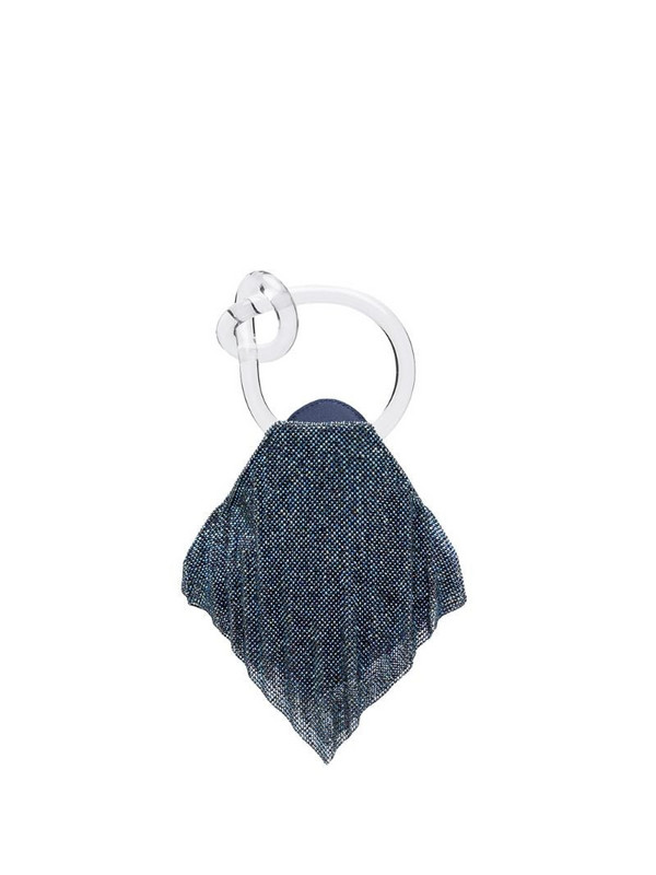 Benedetta Bruzziches sequin embellished apron tote in blue