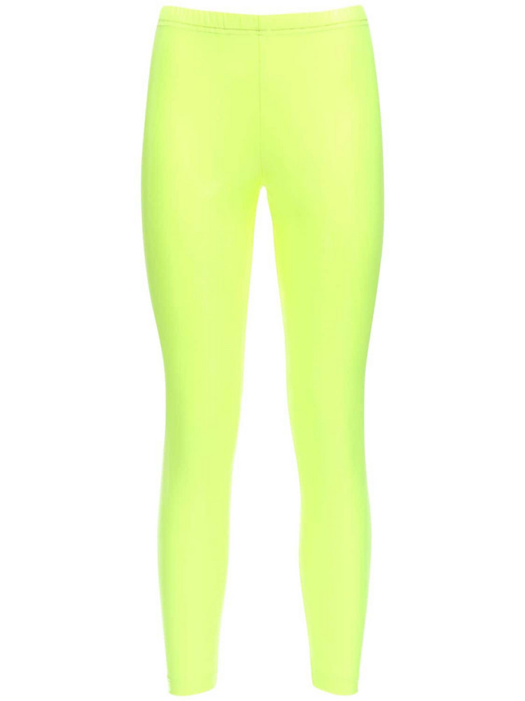 JUNYA WATANABE Stretch Nylon Leggings in yellow