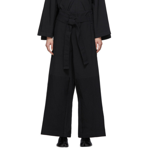 Issey Miyake Black JD Trousers