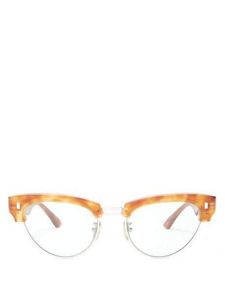 Celine Eyewear - Cat Eye Tortoiseshell Acetate Sunglasses - Womens - Tortoiseshell