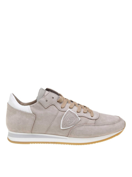 Philippe Model Sneakers Tropez In Nabuck in taupe