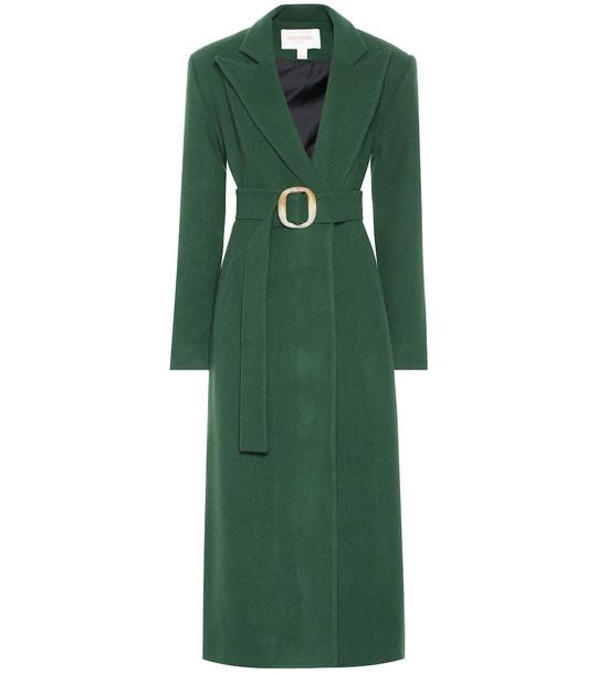 Matériel Tbilisi Wool-blend coat in green