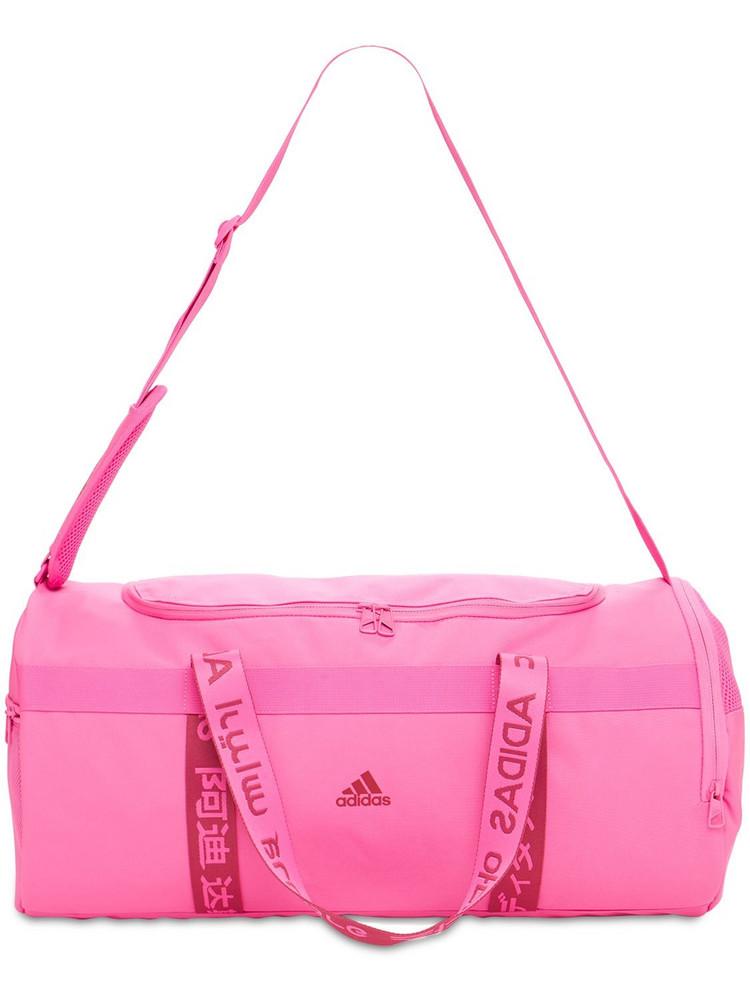 ADIDAS PERFORMANCE Medium Tech Duffle Bag in pink