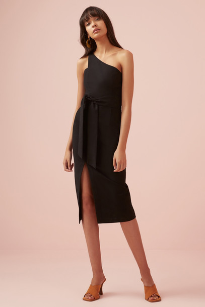 FINDERS KEEPERS FRANCIS DRESS black