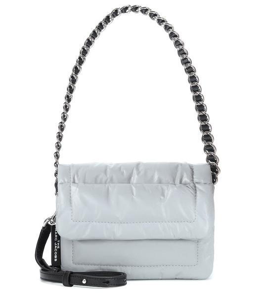 Marc Jacobs Pillow Mini padded shoulder bag in grey