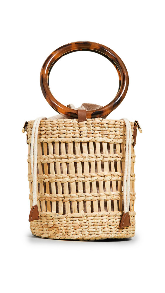 Poolside Bags The Betty Bag in natural / tan