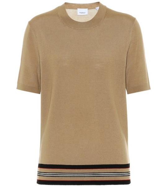 Burberry Wool top in beige