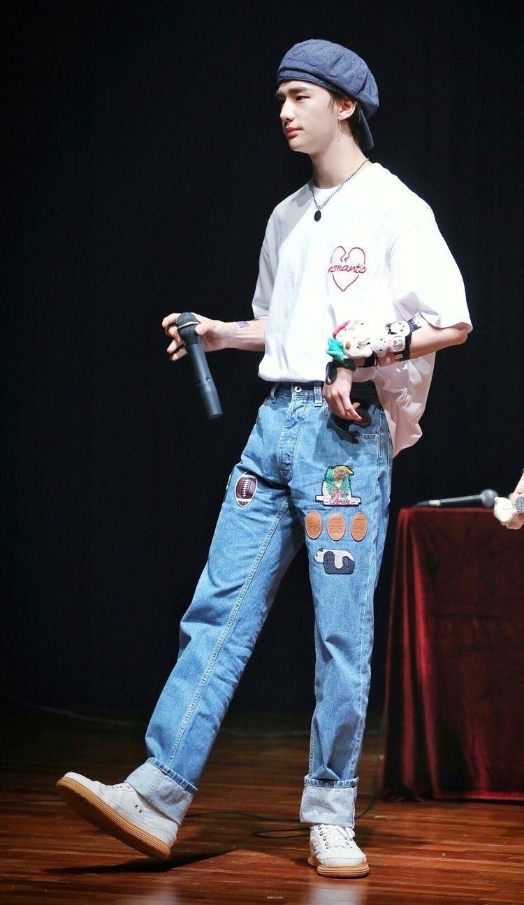 jeans blue patch