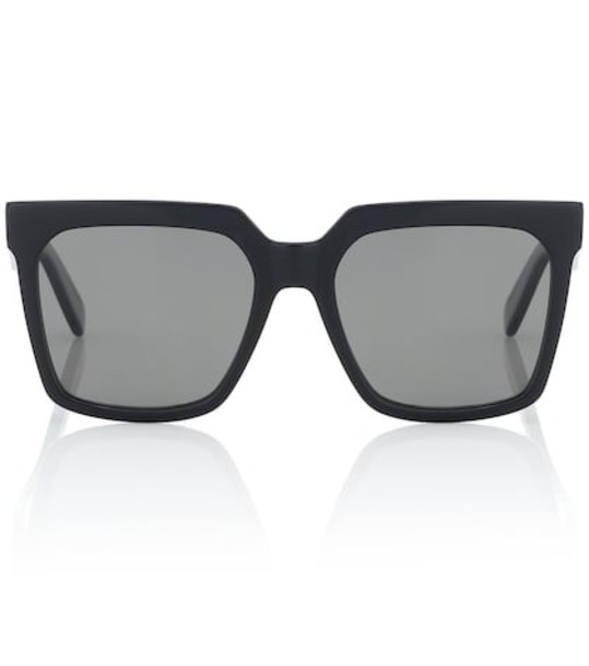 Celine Eyewear Square acetate sunglasses in black