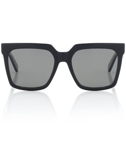 Celine Eyewear Square acetate sunglasses in black