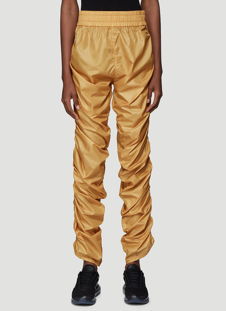 Laerke Andersen Compression Track Pants in Yellow size JPN - 1