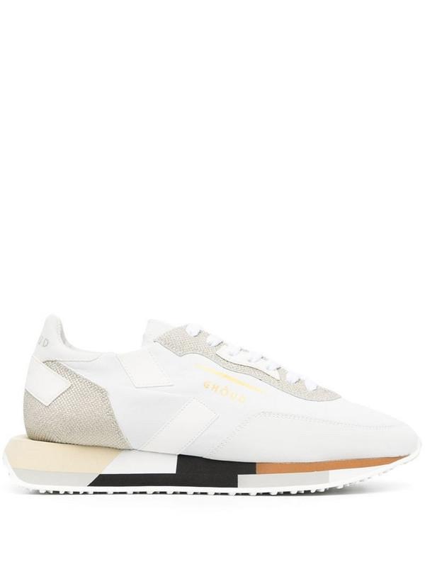 Ghoud rush sneakers in white