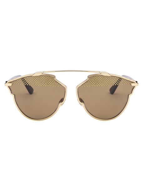 Dior Sunglasses in black / gold