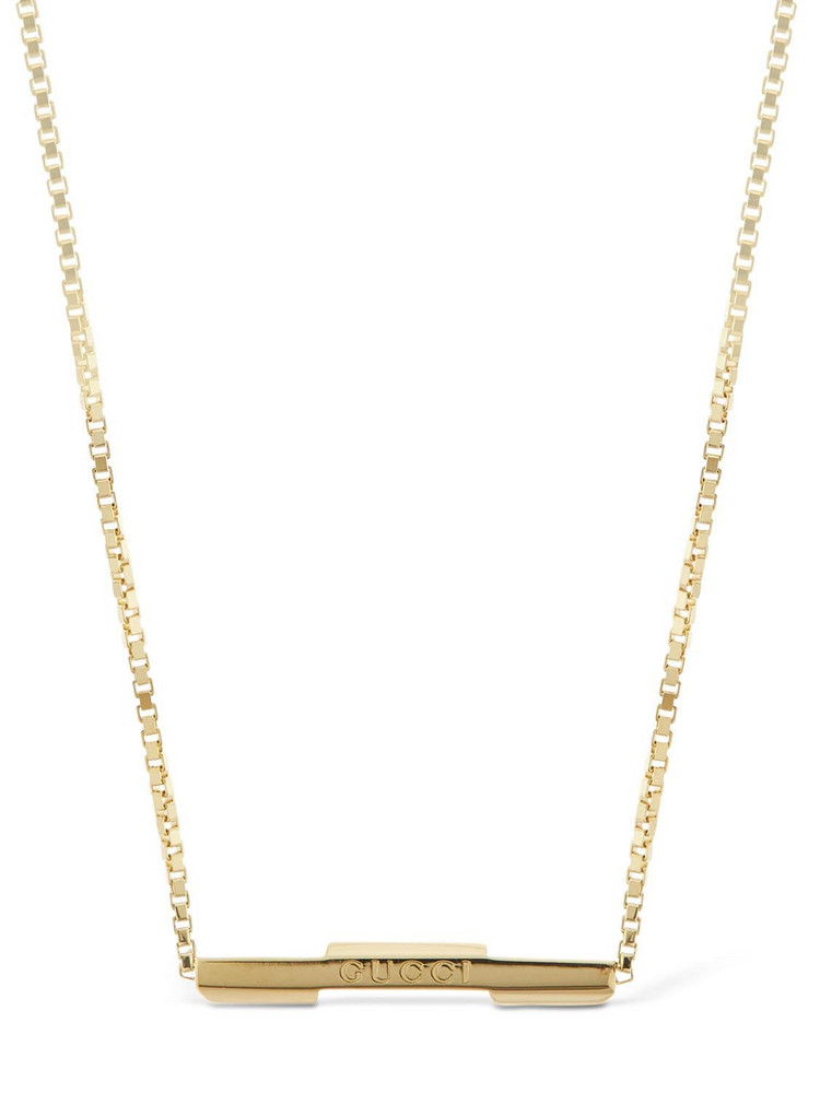 GUCCI 18kt Gold Link To Love Necklace