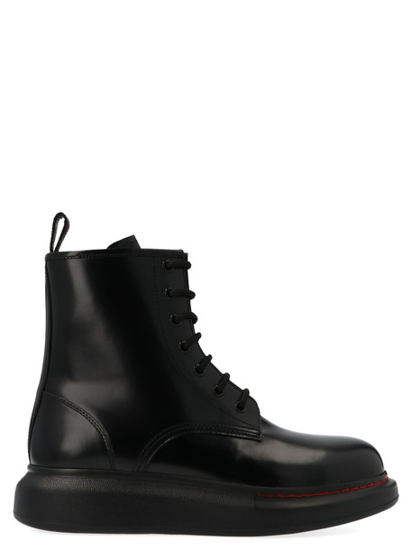 Alexander Mcqueen 'hybrid' Shoes in black