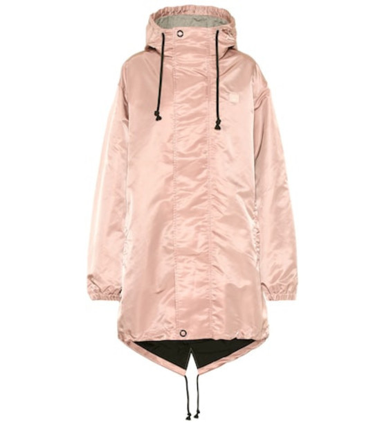 Acne Studios Technical parka in pink