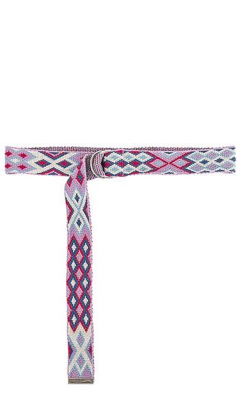 Isabel Marant Balknit Belt in Pink in ecru