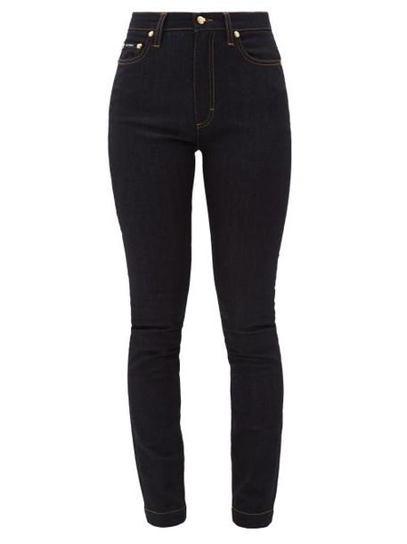 Dolce & Gabbana - Audrey High-rise Stretch Skinny Jeans - Womens - Denim