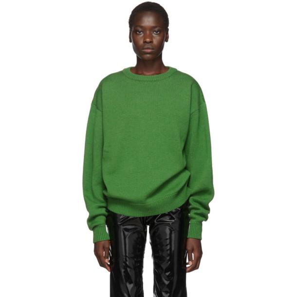 Ottolinger Green Wool Moabit Sweater