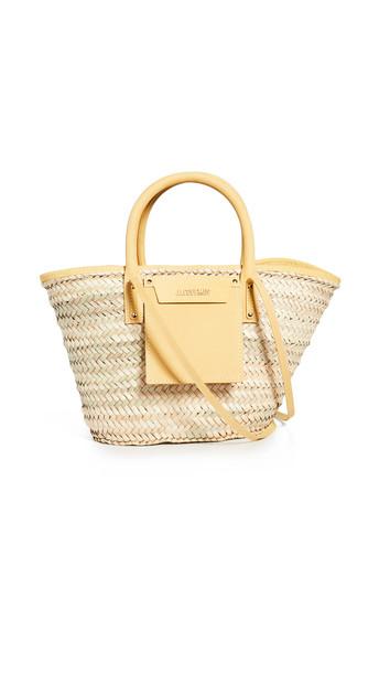 Jacquemus Le Panier Soleil Bag in yellow