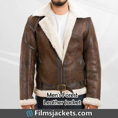 coat,forest double face shearling jacket,leather jacket,fashion,style,outfit,menswear,mens  fashion,men's outfit