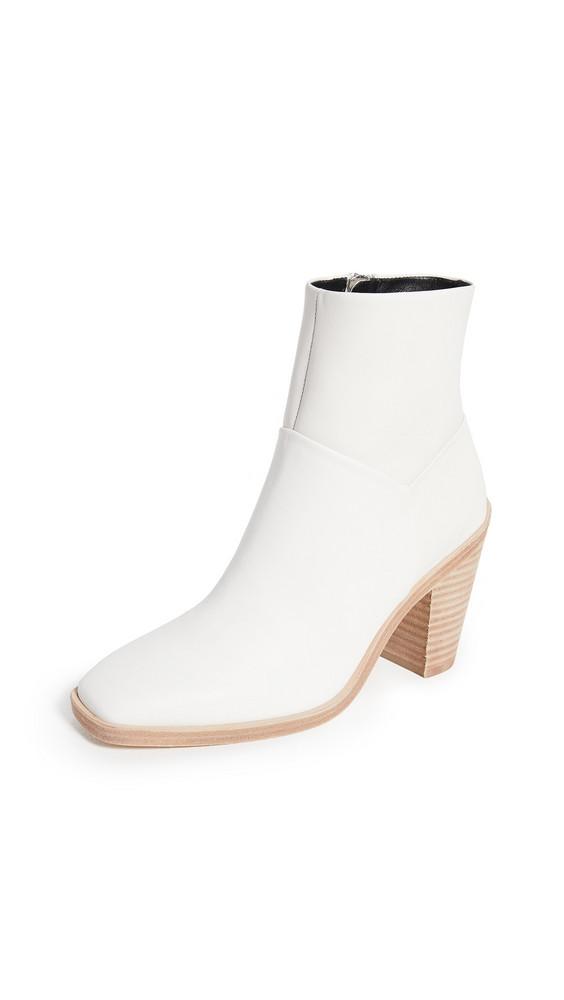 Rag & Bone Axel Booties in white