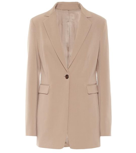 Joseph Lorenzo wool-blend blazer in beige
