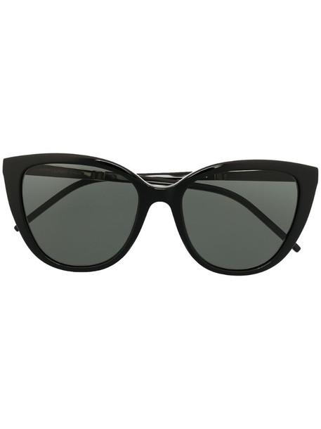 Saint Laurent Eyewear SL M70 cat-eye sunglasses in black