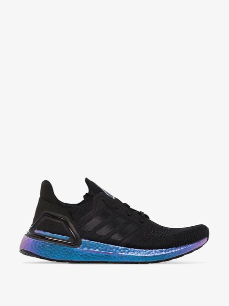 adidas black UltraBOOST 20 low top sneakers