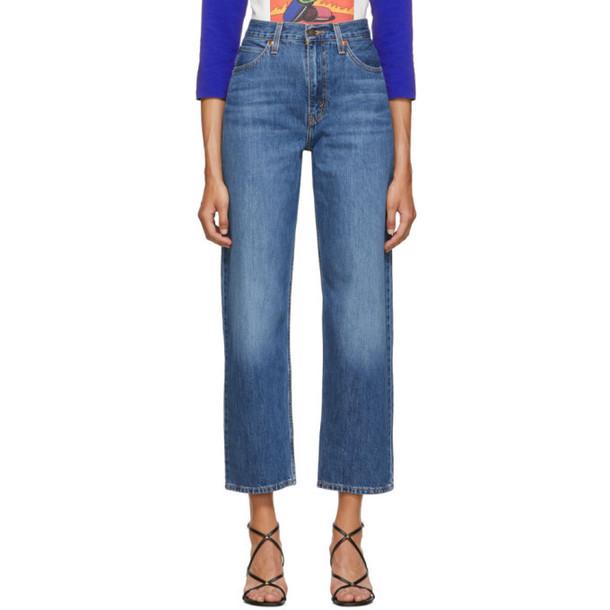Levis Blue Dad Jeans