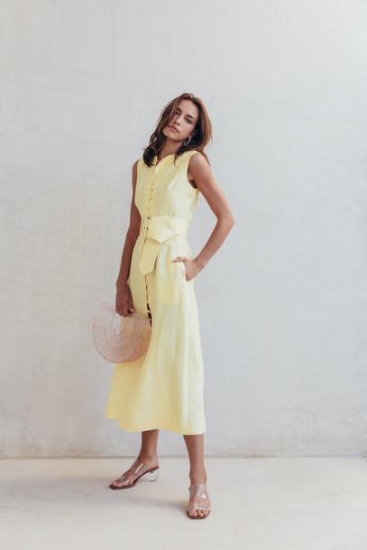 Cult Gaia Gia House Dress - Lemonade                                                                                               $598.00 USD