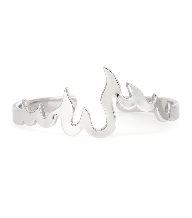 Alan Crocetti Flame bracelet in silver