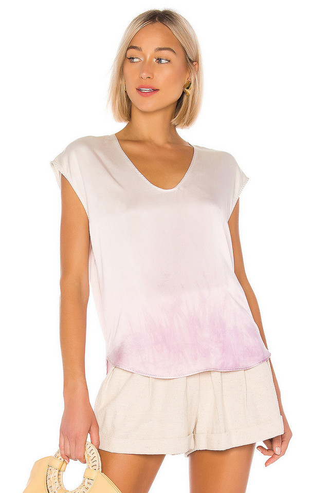 Raquel Allegra Perfect Shell Top in pink