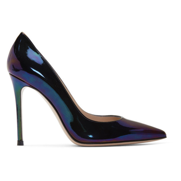 Gianvito Rossi Multicolor Oil Gianvito 105 Heels