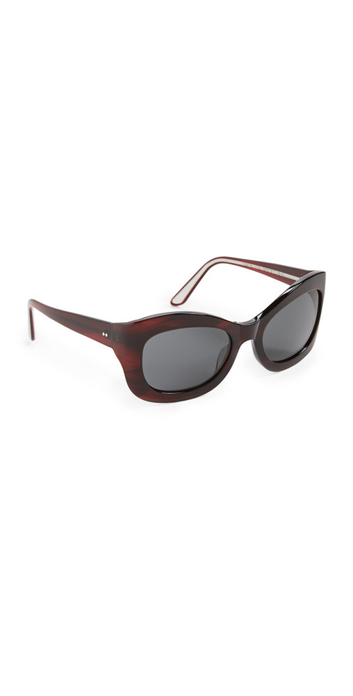 Oliver Peoples The Row Edina Sunglasses in grey