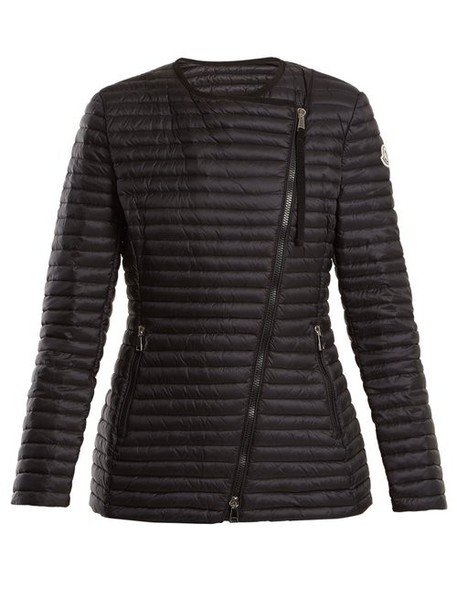 Moncler - Axinite Quilted Down Jacket - Womens - Black